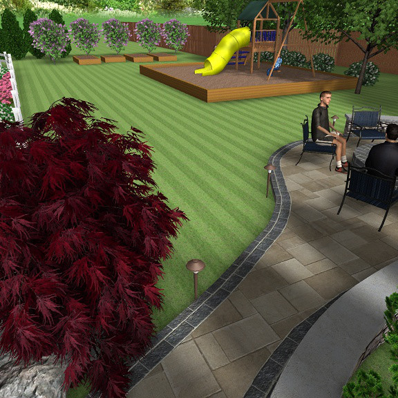 3D Backyard Design