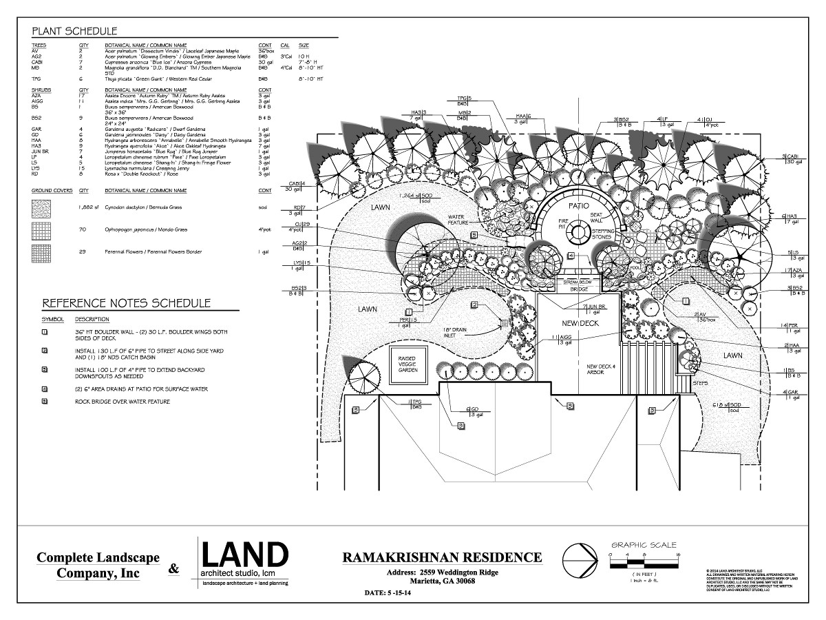 Land architect studio atlanta 39 s premiere landscape architect for Master landscape home design pro